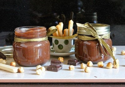 How to make a spread. Easy Home Made More Nut, Less Sugar (Healthier Than Nutella Then....) Chocolate Hazelnut Spread - Step 7