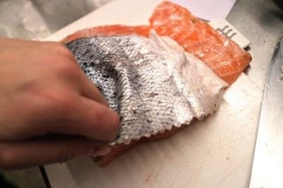 How to cook a poached egg. Whisky Cured Salmon Eggs Royale - Step 2