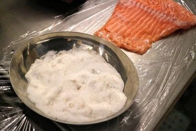 How to cook a poached egg. Whisky Cured Salmon Eggs Royale - Step 3