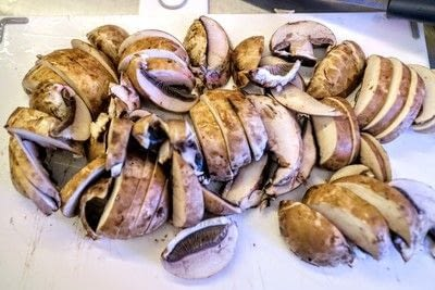 How to cook a mushroom. Miso Butter Mushrooms - Step 1