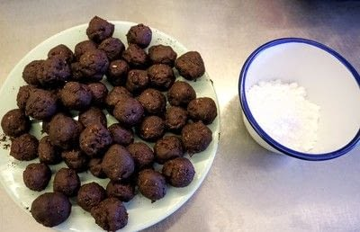 How to bake a batch of rum balls. Brussels Sprout Rum Balls - Step 7