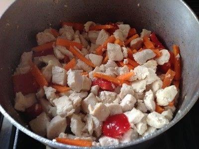 How to cook a chicken dish. Orange Chicken  - Step 2