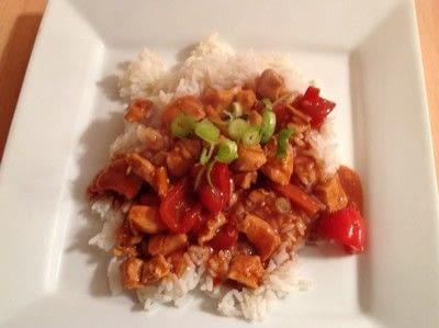 How to cook a chicken dish. Orange Chicken  - Step 5