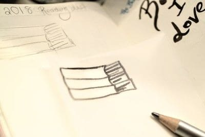 How to make a stamper. Book Stamp - Step 1