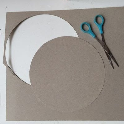 How to make a plate. Decoupage A Glass Plate - Step 3