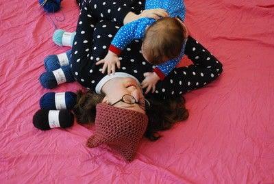How to make a baby bib. Crochet Bulky Bib Tutorial - Step 5