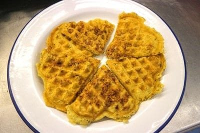 How to cook waffle. Quorn Chicken 'n Waffles - Step 9