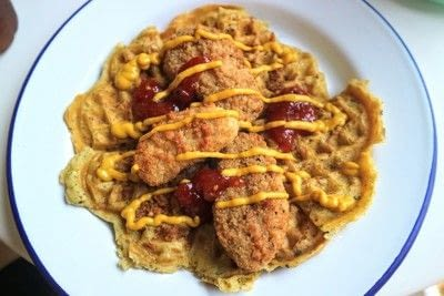 How to cook waffle. Quorn Chicken 'n Waffles - Step 10