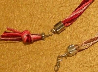 How to make a rope bracelet. Knotted Bracelets - Step 5