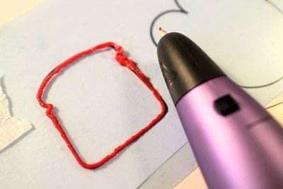 How to make a cookie cutter. 3D Pen Printed Cookie Cutters - Step 2