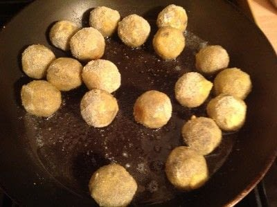 How to cook a meat / tofu dish. Haggis Balls - Step 5