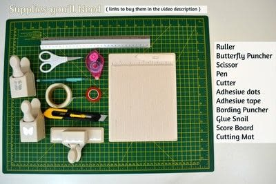 How to cut a piece of papercutting. Diy Crafts   How To Make A Camera Box   Mini Album - Step 2