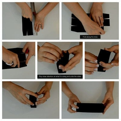 How to cut a piece of papercutting. Diy Crafts   How To Make A Camera Box   Mini Album - Step 9