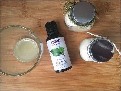 How to make skincare. Natural Body Balm - Step 3
