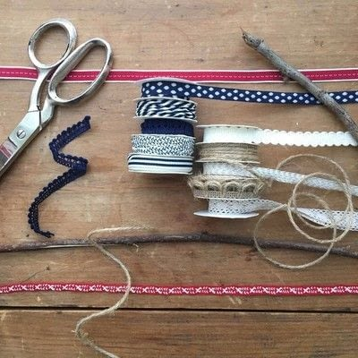 How to make a flag. Patriotic Ribbon Flag - Step 1