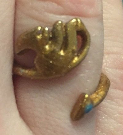 """How to make jewelry. How To """"Allergy Proof"""" or recolor A Ring - Step 3"""