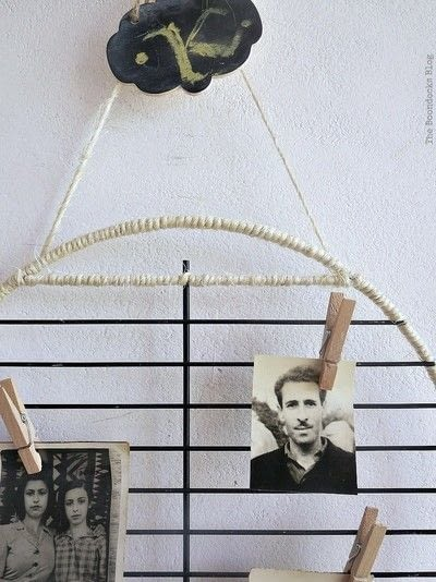 How to make a photo holder. A Wall Displayer For Photos - Step 4