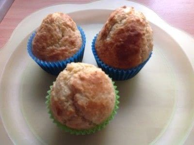 How to bake a muffin. Coconut Muffins  - Step 5