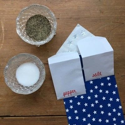 How to make food & drink. Silverware Pouch - Step 3
