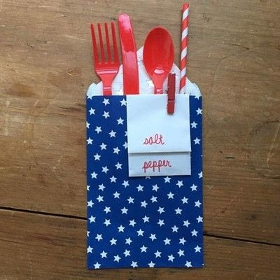 How to make food & drink. Silverware Pouch - Step 4