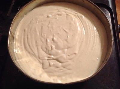 How to bake a cheesecake. Mascarpone Chocolate Cheesecake  - Step 9