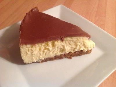 How to bake a cheesecake. Mascarpone Chocolate Cheesecake  - Step 12