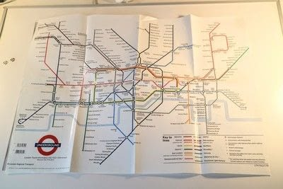 How to make a decorative light. Light Up London Underground Map - Step 3