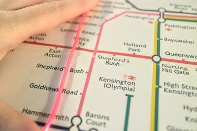 How to make a decorative light. Light Up London Underground Map - Step 7