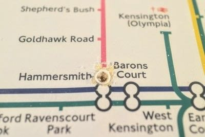 How to make a decorative light. Light Up London Underground Map - Step 9