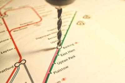 How to make a decorative light. Light Up London Underground Map - Step 10