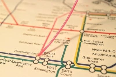 How to make a decorative light. Light Up London Underground Map - Step 11