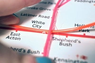 How to make a decorative light. Light Up London Underground Map - Step 13