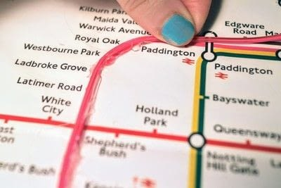 How to make a decorative light. Light Up London Underground Map - Step 14