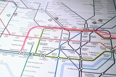 How to make a decorative light. Light Up London Underground Map - Step 15