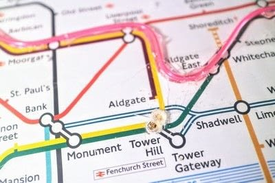 How to make a decorative light. Light Up London Underground Map - Step 16