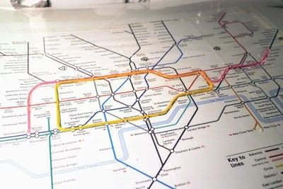 How to make a decorative light. Light Up London Underground Map - Step 17