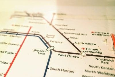 How to make a decorative light. Light Up London Underground Map - Step 18