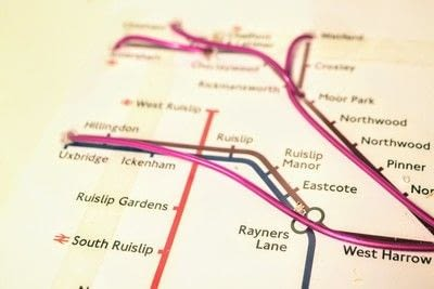 How to make a decorative light. Light Up London Underground Map - Step 21