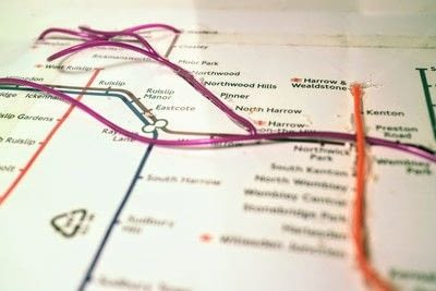 How to make a decorative light. Light Up London Underground Map - Step 22