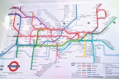How to make a decorative light. Light Up London Underground Map - Step 25