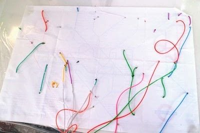How to make a decorative light. Light Up London Underground Map - Step 27