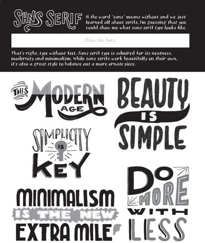 How to create art / a model. Sans Serif - Step 1