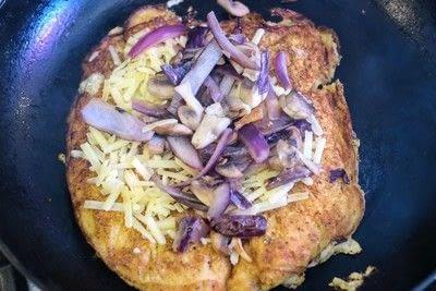 How to cook a pancake. Savoury Cornmeal Pancakes - Step 8
