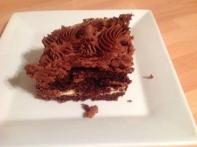 How to bake a chocolate cake. Valentines Heart Chocolate Cake - Step 6