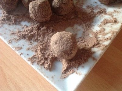 How to make a candy. Chocolate Truffles  - Step 3
