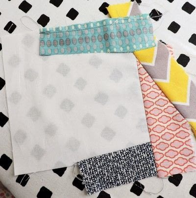 How to make a patchwork quilt. Trash To Treasure Quilt Block - Step 3