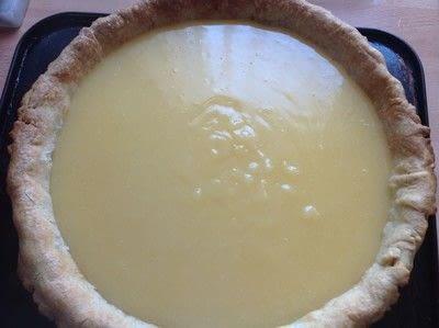 How to bake a lemon meringue pie. Lemon Meringue Pie - Step 6