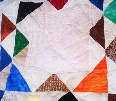 How to make a patchwork quilt. Understanding The Scant 1/4 Inch Seam - Step 2