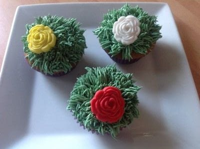 How to bake a sponge cake. Caramel Cupcakes  - Step 7