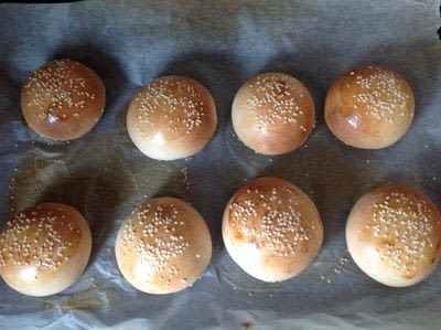 How to bake a burger bun.  Burger Buns - Step 9